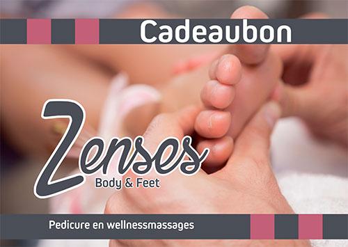 Cadeau voor moeder of vrouw massage of pedicure